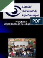 Programa Visión Escolar Saludable