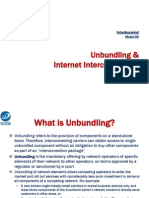 Modul 05. Unbundling and Internet Interconnection
