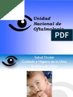 Salud Ocular. Cuidado e Higiene de la Vista. El niño y la Visión