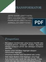 Auto Transformator