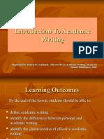 Chapter 1 Intro to Academic WritingNEW