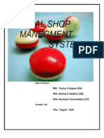 Medical Shop Management System