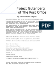 The Project Gutenberg eBook of the Post Office