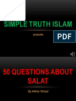 50 QUESTION ABOUT NAMAZ - QUESTION 01-11