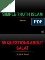 50 QUESTION ABOUT NAMAZ - QUESTION 29-33