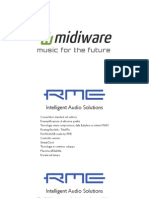 Slide Interfacce Audio RME