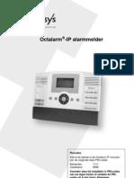 Handleiding Octalarm-IP 2010 NED