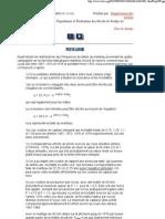 Dynamique des Populations et Évaluation des Stocks de Poulpe de l'Atlantique
