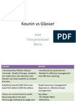 Kounin vs Glasser
