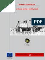 Layman Handbook for hydro electric power plants
