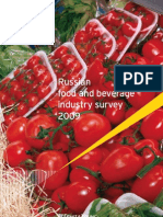 Russian Food and Beverage Industry Survey-August 2009
