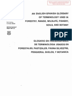 Glosario Terminología Inglés-Español