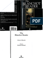 The Blanchot Reader
