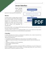 Interficie Extensible Del Firmware (EFI)