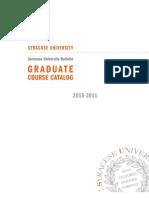Graduate Syracuse