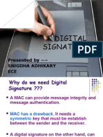 30742303 Digital Signature PPT