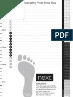 x43 Shoe Guide