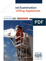Survey and Examination of Ships' Lifting Appliances