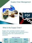 Supply Chain Management & Logistics