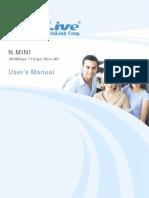 AirLive N.mini Manual