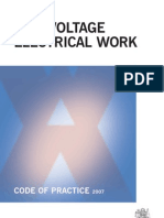 Low Voltage Electrical Work Code of Practice 0964