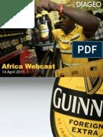 Africa Webcast Slides Diageo - FINAL