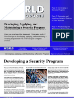 10350 Developing a Security Network
