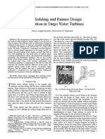 Design Optimization of Turgo Water Turbines