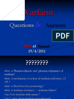 Warfarin Q and A