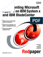 Implementing Microsoft Hyper-V on IBM System X and BladeCenter