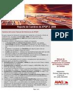Reporte de Cambios_APQP-2_Agosto, 2008
