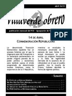 Villaverde Obrero - Número 10 - Abril 2o12