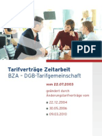 BZA-Tarifvertrag-2010