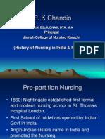 History of Nursing- Indopak