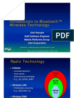 Introduction to Blue Tooth Wireless Technology