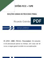 Questoes FCC_Slide 01_Processo Penal