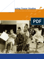 Introducing Tracer Studies Guidelines for Implementing Tracer Studies in Early Childhood Programmes