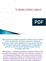 Stability Indicating Assay