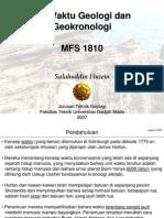 Waktu Geologi Dan Geokronologi