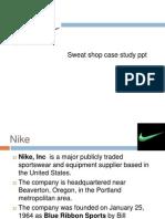 Nokia Sweat shop