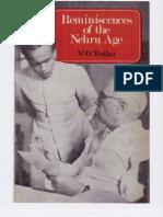 Reminiscences of Nehru Era
