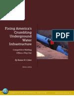 Bonner Cohen - Fixing America's Water Infrastructure