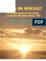 378210 the Art and Science of Sun Gazing Living on Sunlight
