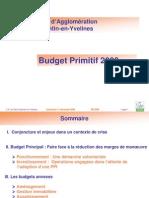Budget Primitif CASQY 2009