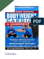 Bodyweight Cardio Craig Ballantyne