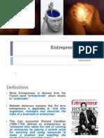 Chapter 1.1 - Entrepreneurship Overview