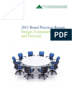 2011 Board Pracices Report by Deloitte