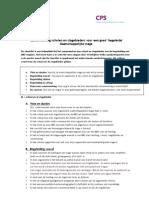 ORG Checklist Begeleiding Voor School en Organisaties