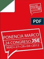 Ponencia Marco 24º Congreso JSE