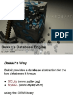 Bukkit's Database Engine